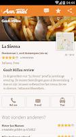 Screenshot of À Table - Find a Restaurant