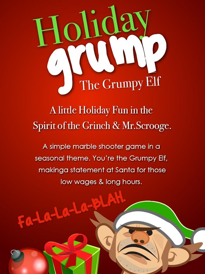 Holiday Grump- screenshot