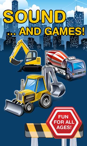 City Trucks Construction Kids