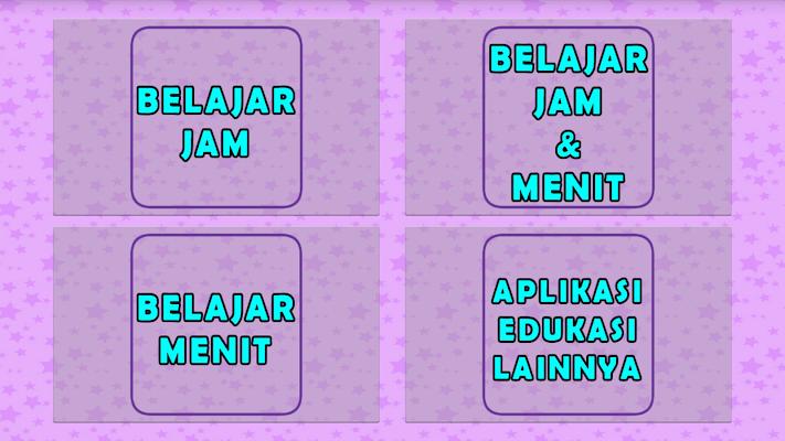 Belajar Membaca Jam & Waktu - screenshot