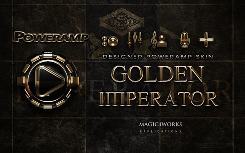 Poweramp skin Imperator HD