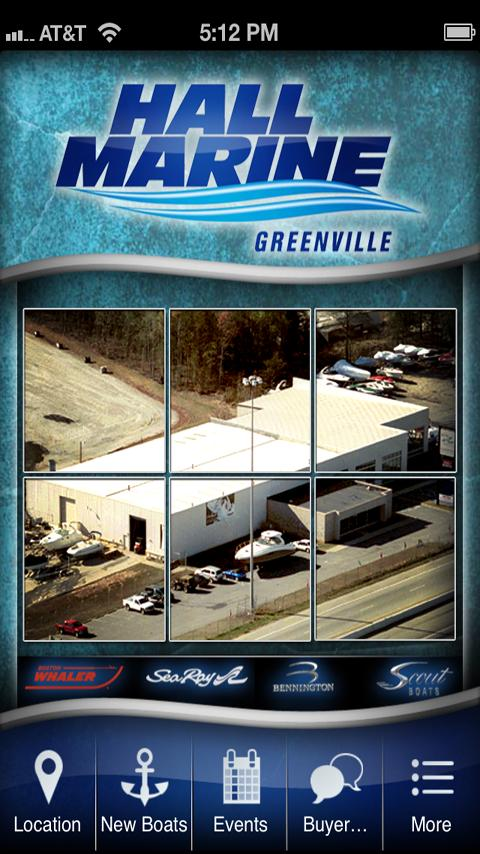 Hall Marine of Greenville - screenshot
