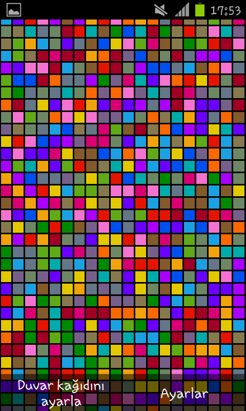 Live Color Blocks Wallpaper- screenshot