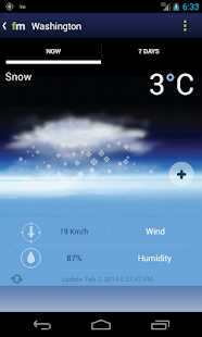 Freemeteo- screenshot thumbnail