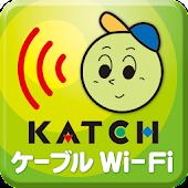 KATCH ケーブルWi-Fi接続