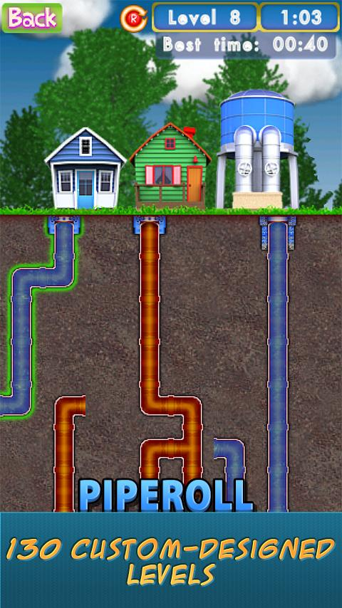 PipeRoll - screenshot