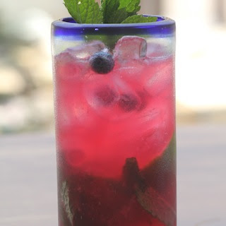 Blueberry Mint Mojito.