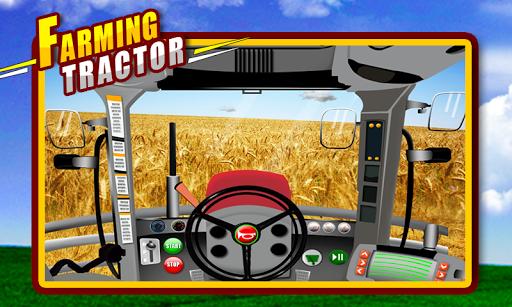農耕拖拉機2D