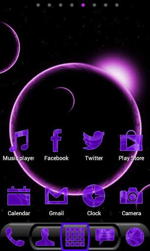 Future Phone Purple Super