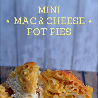 Mini Mac & Cheese Pot Pies.
