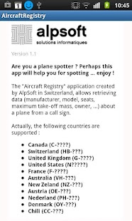 Aircraft Registry- screenshot thumbnail