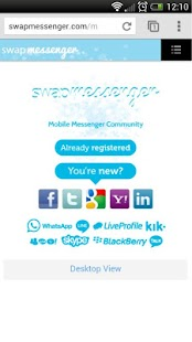 swapMessenger - screenshot thumbnail