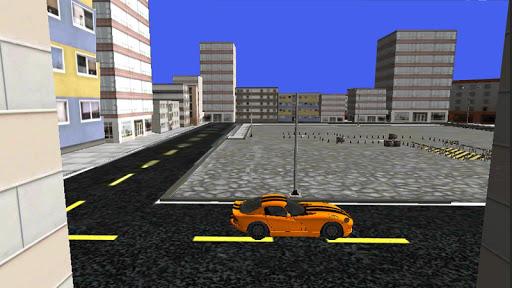 汽車停車3D