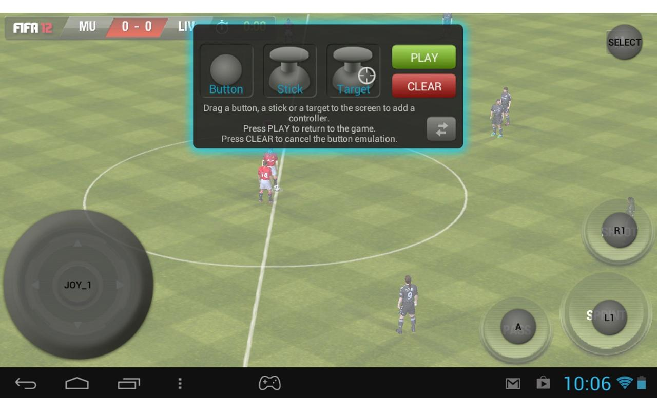 Archos Mapping Tool (GamePad)- screenshot
