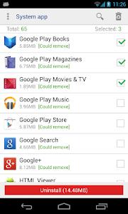 System app remover (ROOT) v3.1.1013