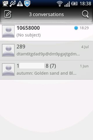 Easy SMS Memorial theme- screenshot