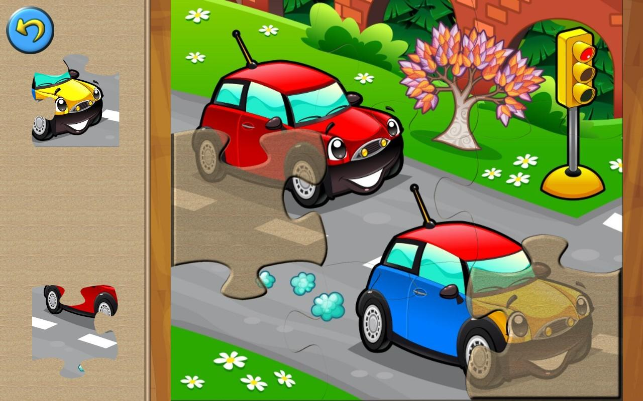 cars for kids puzzle games android apps on google play. Black Bedroom Furniture Sets. Home Design Ideas