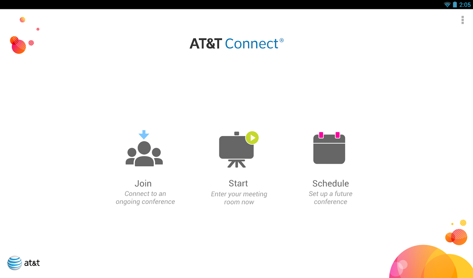 AT&T Connect - screenshot