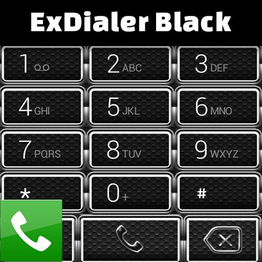 ExDialer黑 個人化 App LOGO-APP開箱王