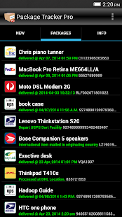 Package Tracker Pro- screenshot thumbnail