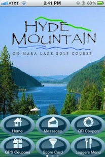 Hyde Mountain Golf App- screenshot thumbnail