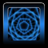 GO Keyboard Blue Neon Free