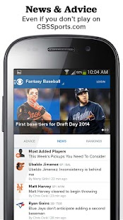 CBS Sports Fantasy - screenshot thumbnail