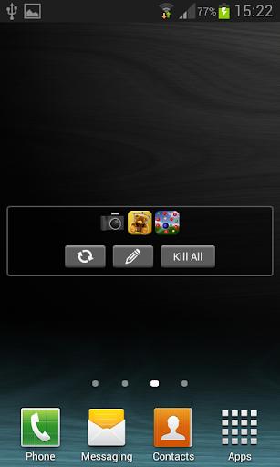 Close Apps Widget