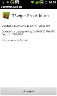 TSwipe-Pro OpenWnn- screenshot thumbnail