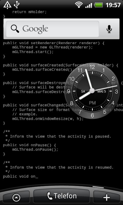 Coder's Live Wallpaper - screenshot