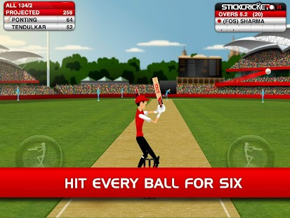 Stick Cricket- screenshot thumbnail