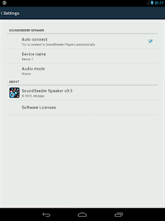 SoundSeeder Speaker Screenshot 8