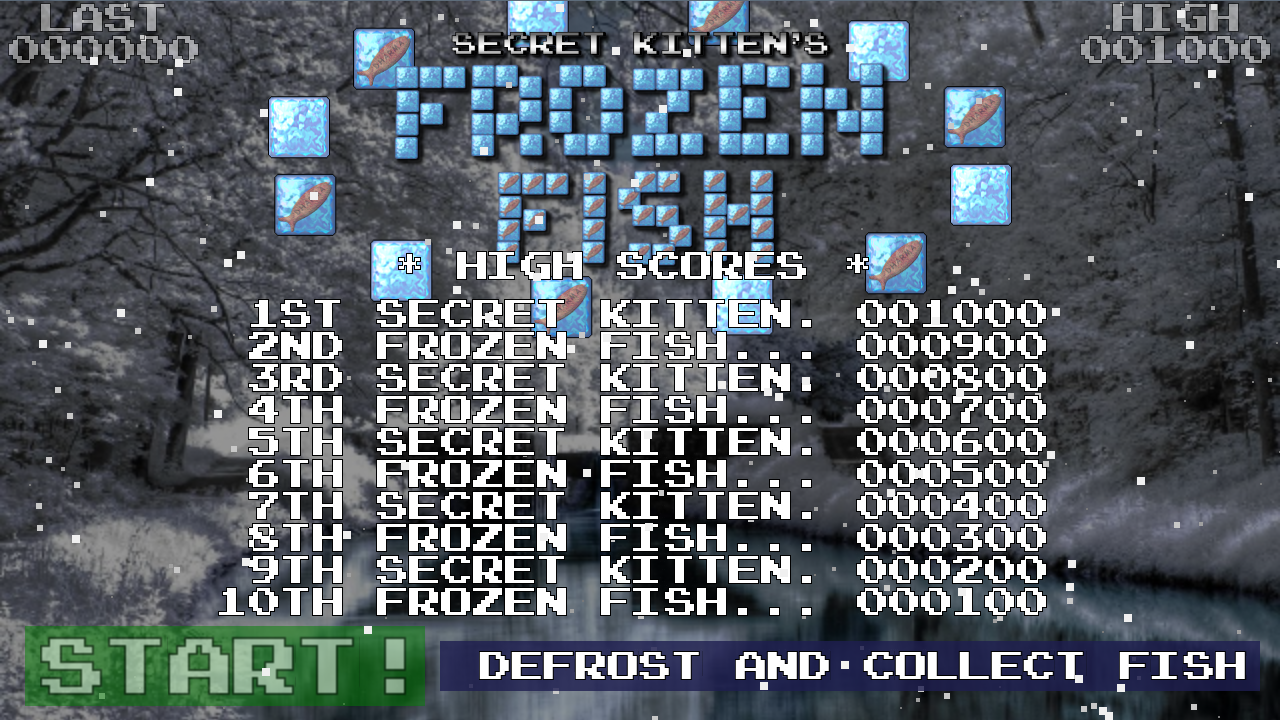Frozen Fish- screenshot