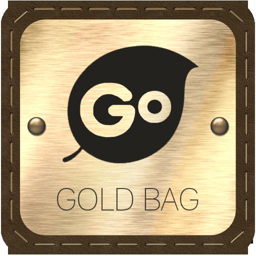 Gold Bag Go Keyboard LOGO-APP點子