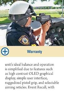 Law Enforcement Product News - screenshot thumbnail