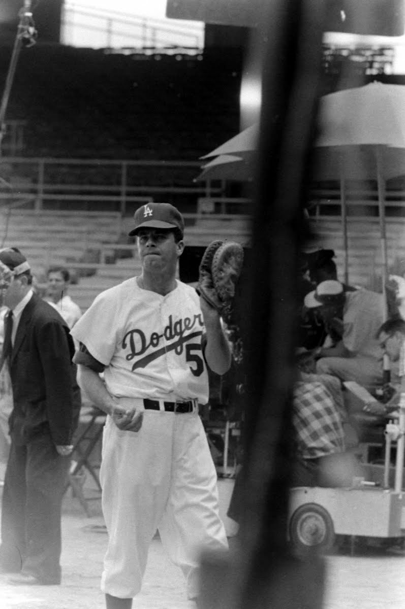 Jerry Lewis's Day With Los Angeles Dodgers For Movie-Geisha Boy