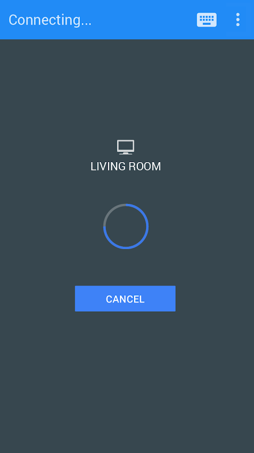 Android TV Remote Control - screenshot