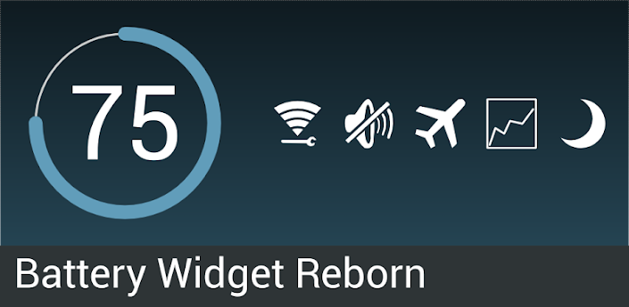 Battery Widget Reborn 1.7.0/PRO apk