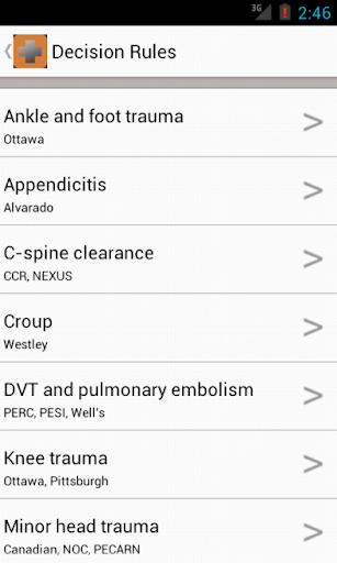 【免費醫療App】ERres- Emergency Medicine-APP點子