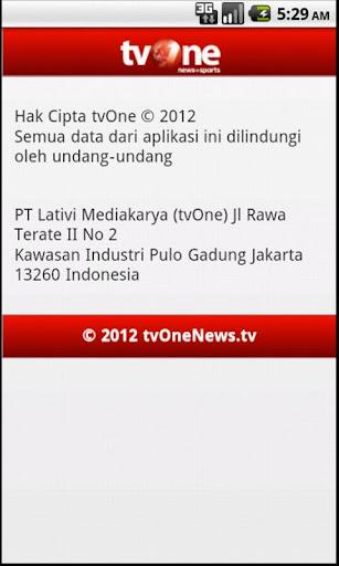 tvOneNews Video