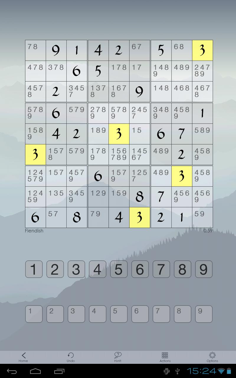 Sudoku Of The Day screenshot #8