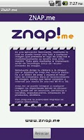Screenshot of ZNAP
