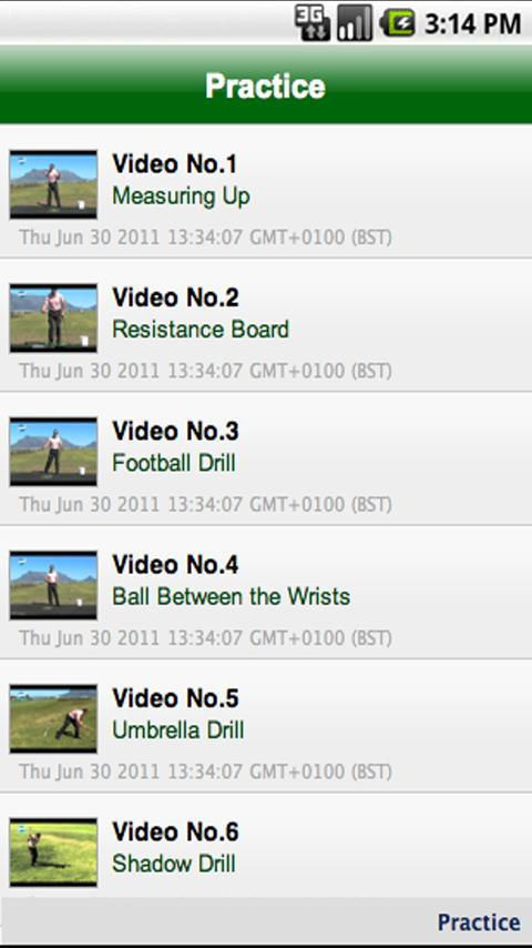 The A to Z of Golf- screenshot