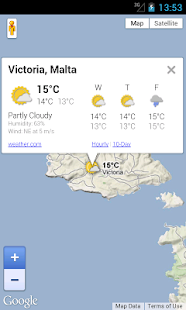 Malta Weather Forecast - screenshot thumbnail