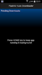 FlashAir Auto Downloader