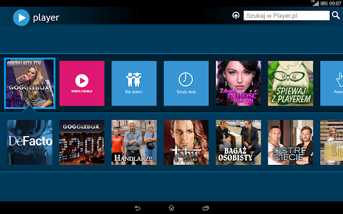 player (tablet)- screenshot thumbnail