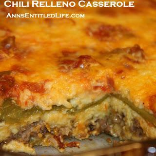 Chili Relleno Casserole.