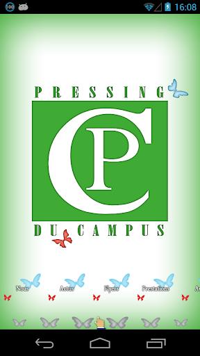 Pressing du campus