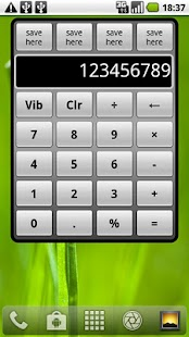 Calculator Widget (Free) - screenshot thumbnail