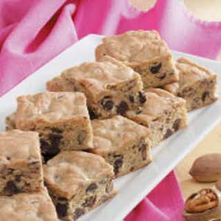 Chippy Blond Brownies.